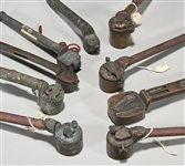 Collection of Antique Japanese Bronze Yatate
