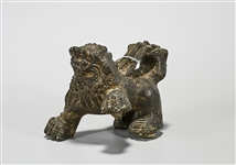 Chinese Bronze Fo Lion