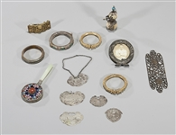 Collection of Various Chinese Silver & Metal Objects
