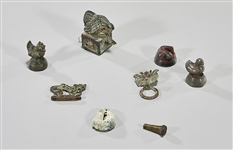 Group of Various Old Chinese Metalworks