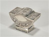 Chinese Silver Dragon Box