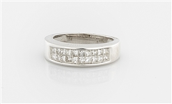 18K White Gold & Diamond Ring