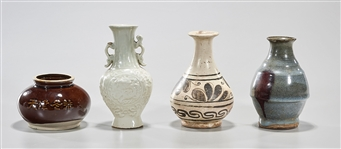 Group of Four Chinese Monochrome Ceramics