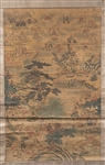 Chinese Painting on Silk Scroll