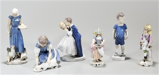 Group of Continental Porcelain Figures