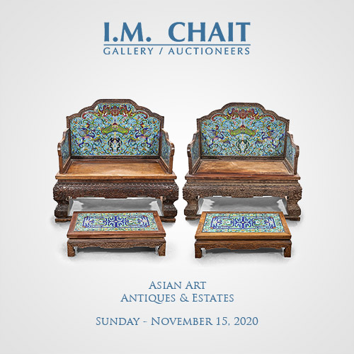 Asian Art, Antiques & Estates Nov 15, 2020